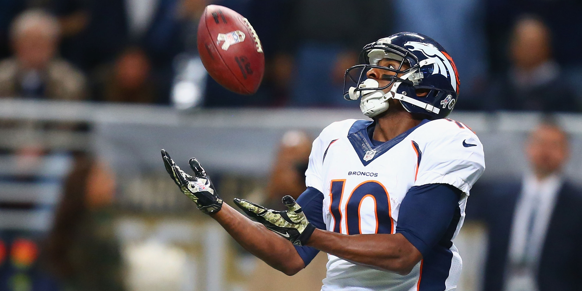 Emmanuel Sanders Is Very Much Alive Despite What Says
