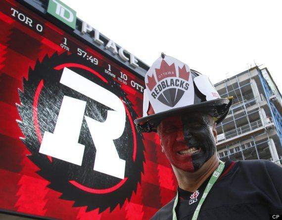 ottawa redblacks fan