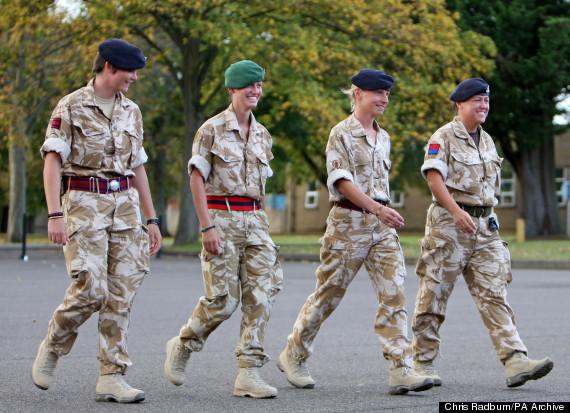 women british army