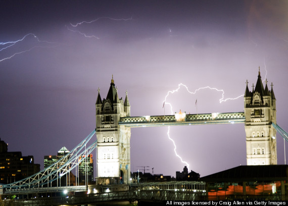 lightning uk