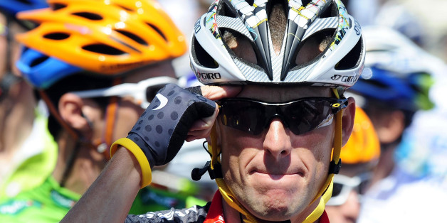 File photo dated 04/07/2010 of Lance Armstrong.