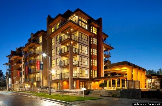 wood apartment building