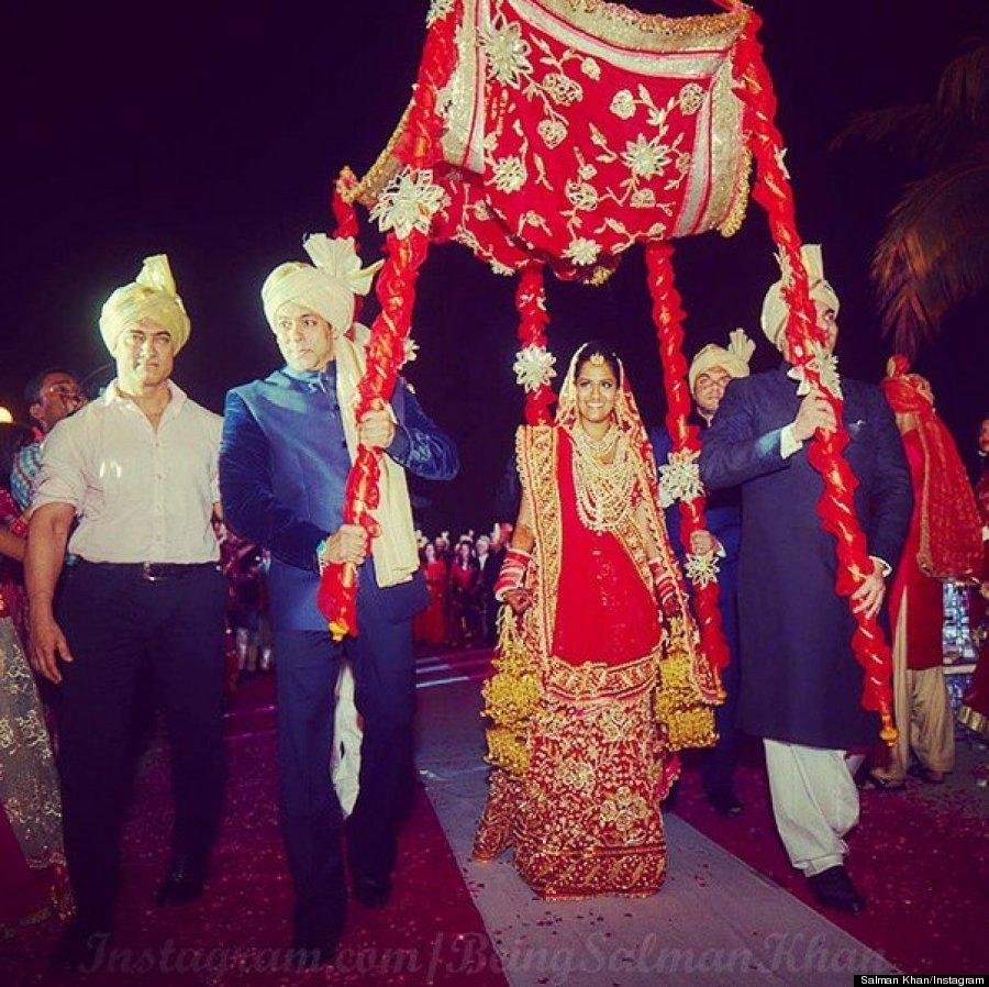 Arpita Khan\'s Wedding Was An Extravagant Bollywood Affair