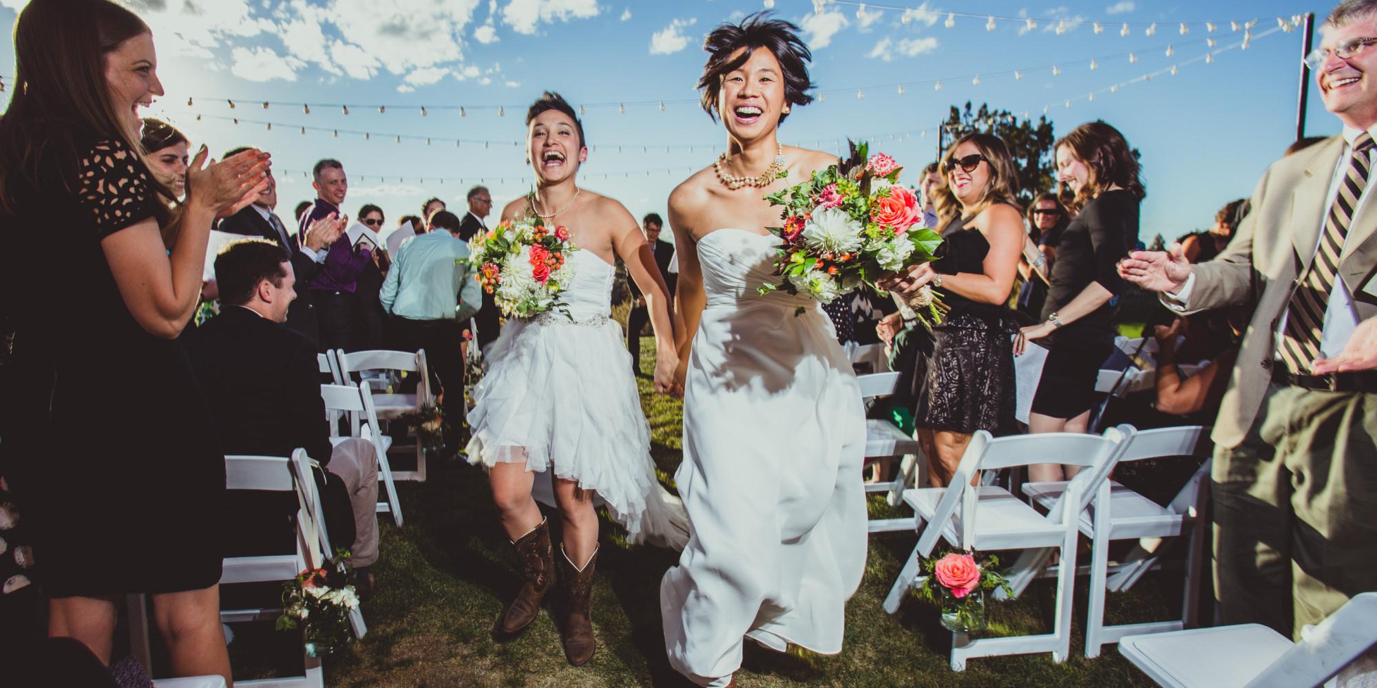 Massive gay wedding