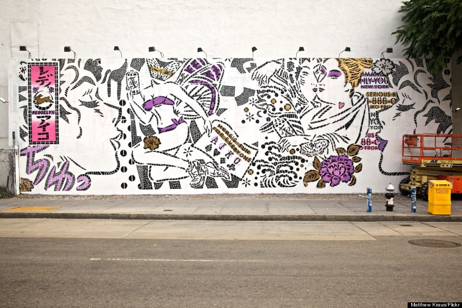 lady aiko street art