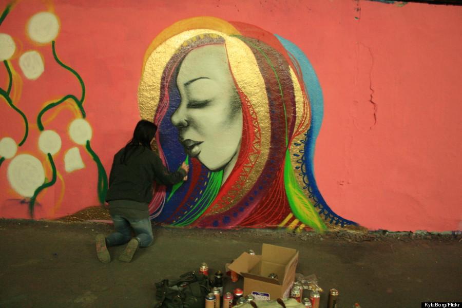 miss hazard street art