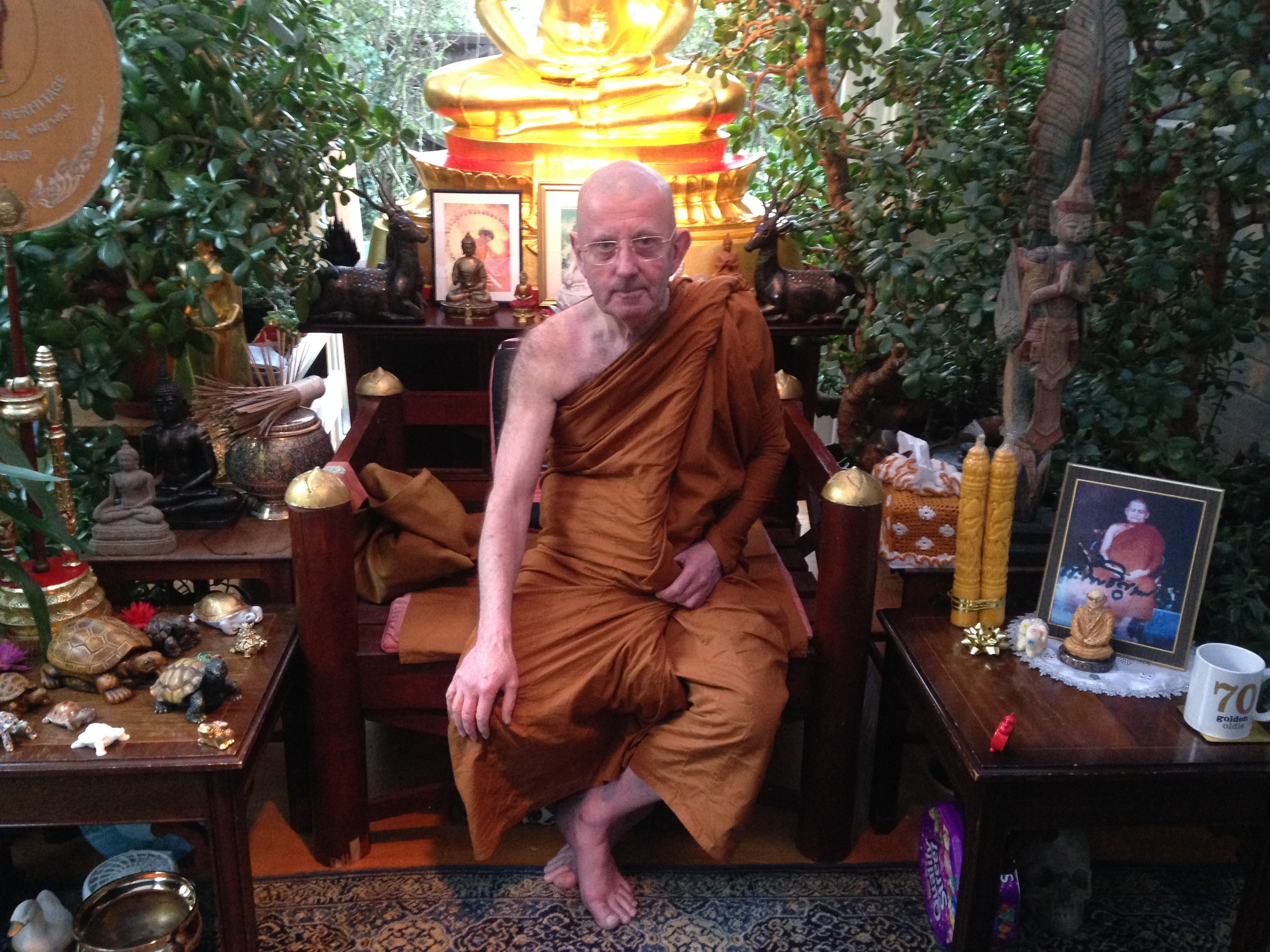 The Monk Who Gave Up Acting With Laurence Olivier To Lead Buddhism In British Prisons