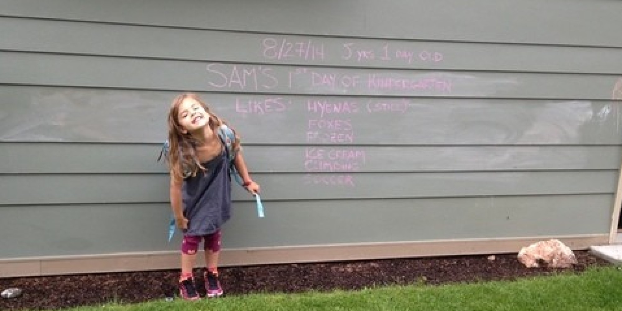 A Thank You Note To My Daughter S Kindergarten Teacher Huffpost