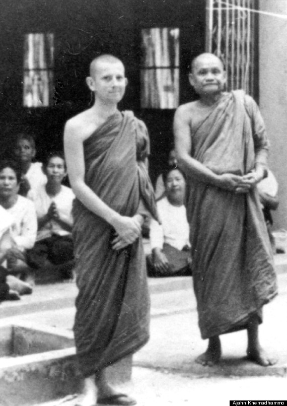with ajahn chah