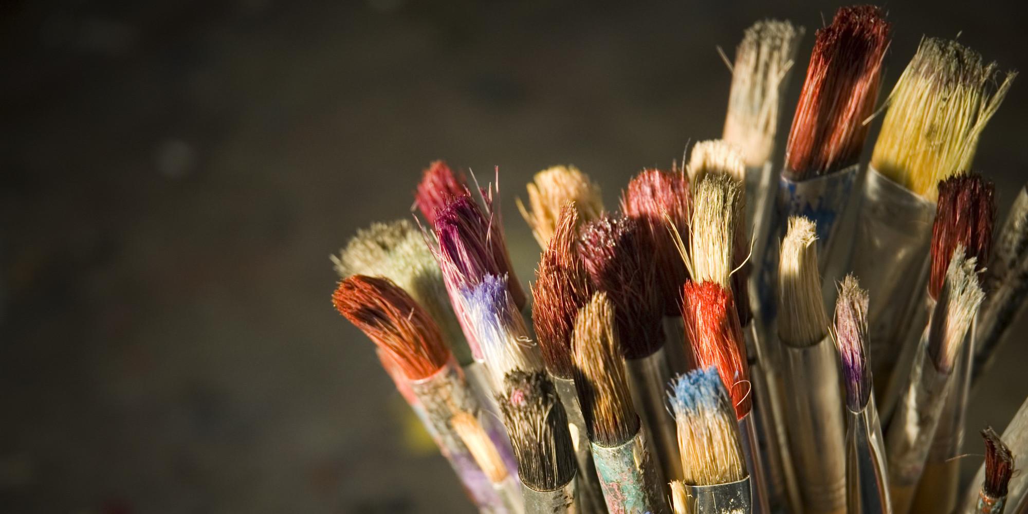 Graduate Paint Brush