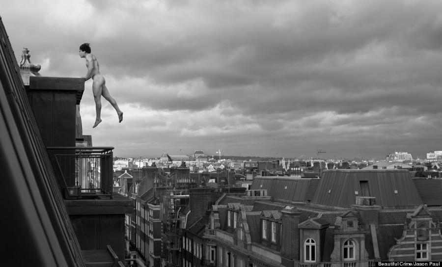 man and mortar tim shieff naked freerunning london