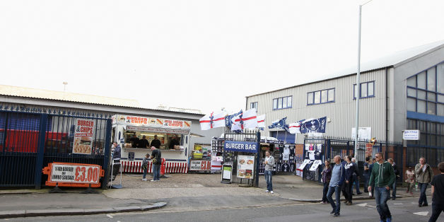 File photo dated 21/09/14 of Archway Sheet Metal Works, next to the North Stand of White Hart Lane in Tottenham, after a fire hit the business, which is locked in a dispute with Tottenham Hotspur.