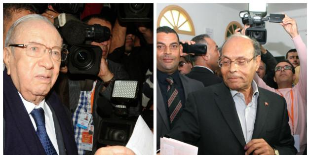 Election présidentielle en Tunisie: Essebsi en tête devant Marzouki, un second tour sera nécessaire
