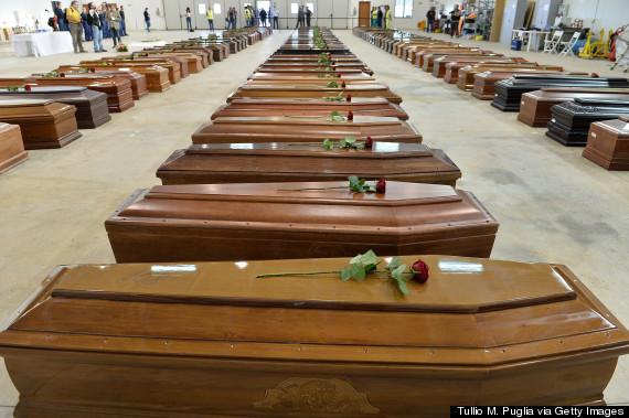 lampedusa coffin