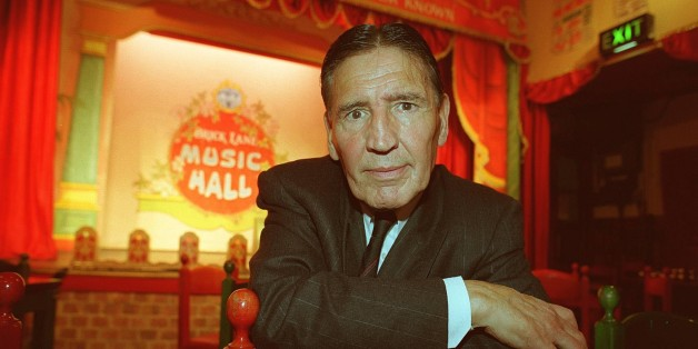 'mad' Frankie Fraser, Former East End Gangster, At the launch of his one-man show, at the Brick Lane Music Hall in East London. (Photo by Photoshot/Getty Images)