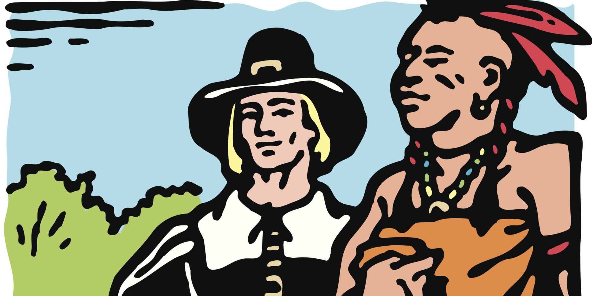 you probably learned a glossed over version of native american