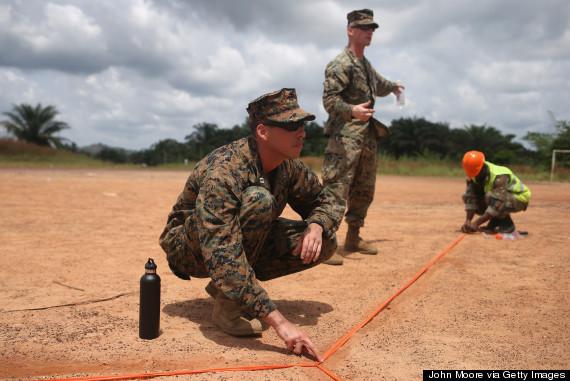 ebola soldiers