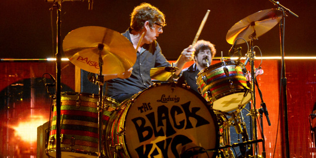WASHINGTON, DC - NOVEMBER 11:  Patrick Carney of The Black Keys performs onstage during 'The Concert For Valor' at The National Mall on November 11, 2014 in Washington, DC.  (Photo by Jeff Kravitz/Getty Images for HBO)