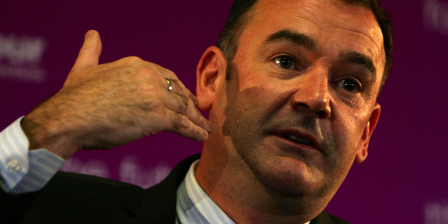 SHEFFIELD, UNITED KINGDOM - MAY 27:  Jon Cruddas addresses a Labour party hustings meeting as one of the six candidates for the position of deputy leader of the party at Sheffield United Football Club on May 27, 2007 in Sheffield, England. Mr Brown yesterday admitted that the government had made mistakes in the handling of Iraq.  (Photo by Christopher Furlong/Getty Images)