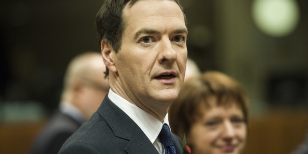 British Chancellor of the Exchequer George Osborne at the start of a European finance ministers meeting at EU Commission headquarters in Brussels, Belgium on 07.11.2014 by Wiktor Dabkowski