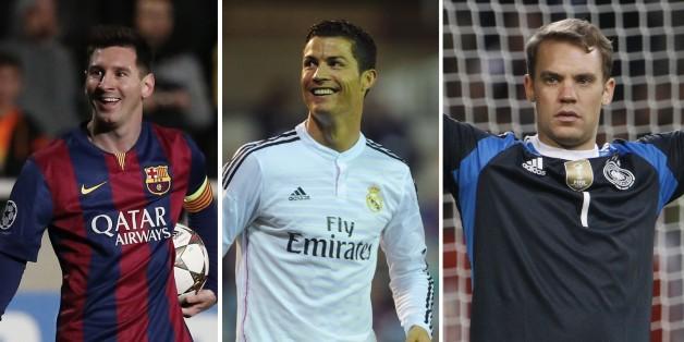 Messi, Ronaldo et Neuer finalistes du Ballon d'Or, ou l'année du choix impossible