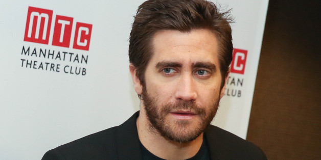 NEW YORK, NY - NOVEMBER 18:  Jake Gyllenhaal attends 'Constellations' Press Preview at Manhattan Theatre Club Rehearsal Studios on November 18, 2014 in New York City.  (Photo by Rob Kim/Getty Images)