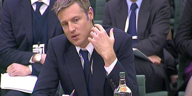 Conservative MP Zac Goldsmith gives evidence to the Joint Committee on Privacy and Injunctions at Portcullis House, London.