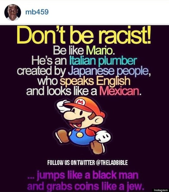 mario balotelli racist instagram