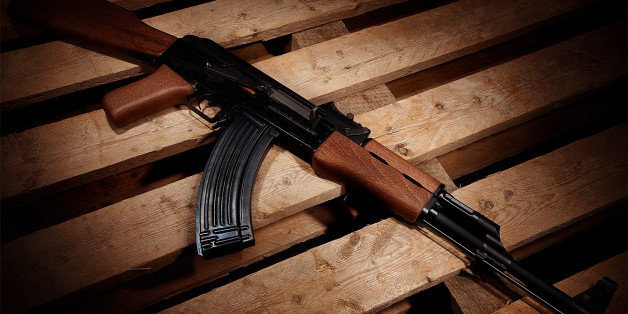 Developed by Mikhail Kalashnikov in the Soviet Union, the AK-47 or Avtomat Kalashnikova is a gas operated assault rifle which utilizes the 7.62x39mm FMJ catridge. The 47 in the name comes from the year the model was created in 1947 (though there were prototypes before that time). The AK-47 was officially accepted into the Soviet Armed Forces in 1949. Until now there have been many variants of the Kalashnikov rifle. The astounding durability and simplicity of the powerful assault rifle is the reason for it's prestige in todays gunnut society. The AK-47 lives on as a legend and a surefire way to destroy anything you point it at.   5D Mark II EF 17-40 f/4L @ f/5.6 Single 580EXII through the center