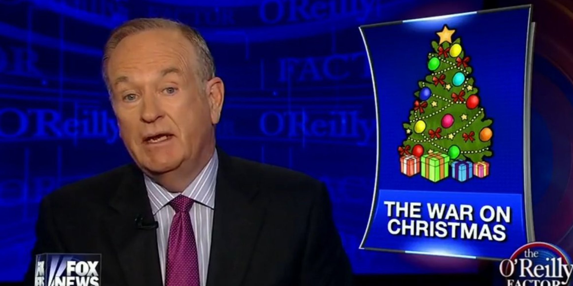 Bill O'Reilly Launches First Counter-Offensive In The 'War On ...