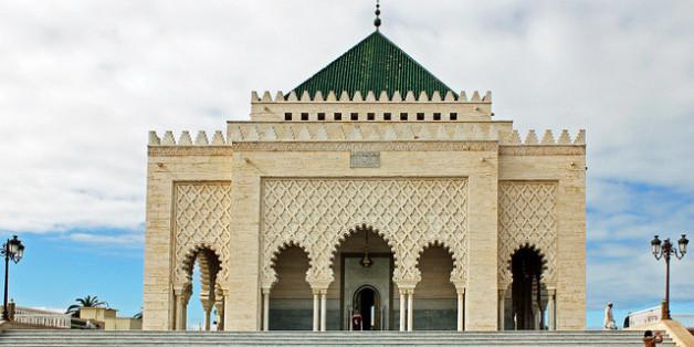 Le mausolée Mohammed V de Rabat