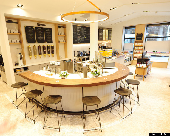 second cup future concept store