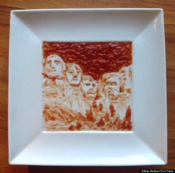 ketchup mount rushmore