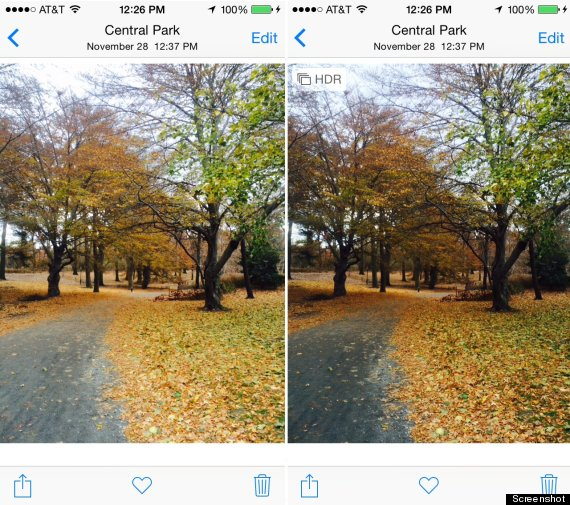 hdr images iphone