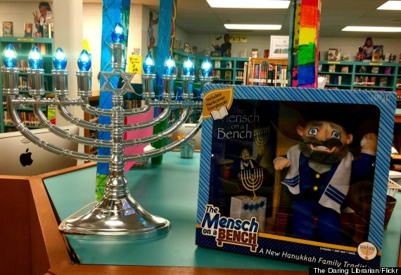 Mensch On A Bench Is Hanukkahs Answer To Elf On The Shelf