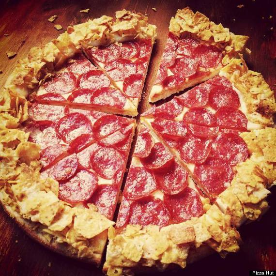 doritos crust pizza
