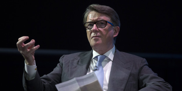 LONDON, ENGLAND - JULY 03:  Lord Mandelson delivers a speech at the 'Policy Network Conference' held in the Science Museum on July 3, 2014 in London, England. The conference, hosted by the Policy Network think tank, is convened under the title: 'On how Britain can build a strong, sustainable and inclusive economy for the future'.  (Photo by Oli Scarff/Getty Images)