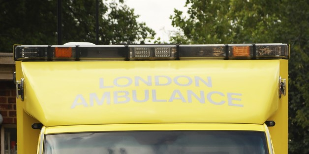 Ambulance, fire and police crews were called to the scene in Montagu Square (file picture)