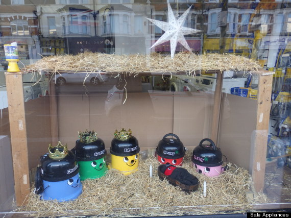 henry hoover nativity scene