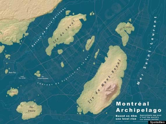 carte montreal inondee