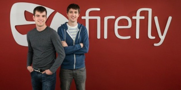 Simon Hay (left), 28, and Joe Mathewson (right), 29, co-founders of Firefly