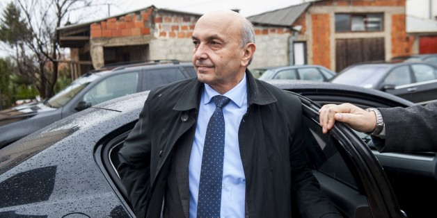 A photo taken on December 2, 2014 shows the head of the Democratic League of Kosovo (LDK), Isa Mustafa, in Pristina. Lawmakers in Kosovo will vote in a new government on December 8 led by former Pristina mayor Mustafa, with outgoing Prime Minister Hashim Thaci becoming foreign minister. The deal ends six months of wrangling between Kosovo's two biggest parties, Mustafa's Democratic League of Kosovo (LDK) and Thaci's Democratic Party of Kosovo (PDK), since an inconclusive election in the young Ba