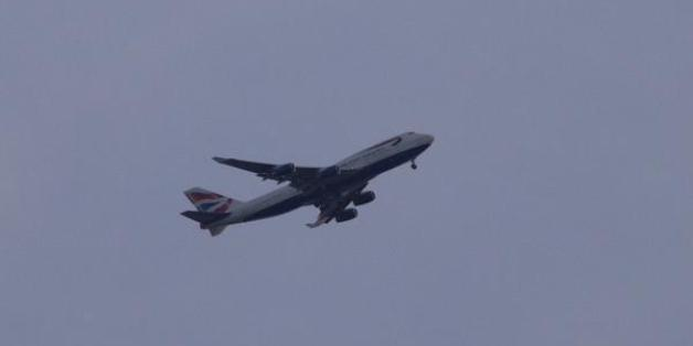 This photo of BA107 was taken by eyewitness Tony Southgate