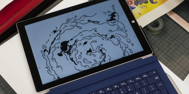 Ditto Press bring design to life on Microsoft Surface Pro 3