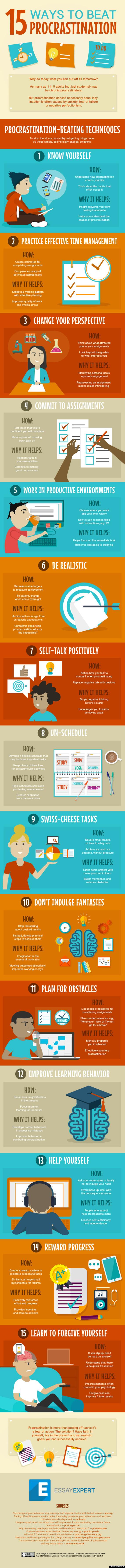 procrastination tips