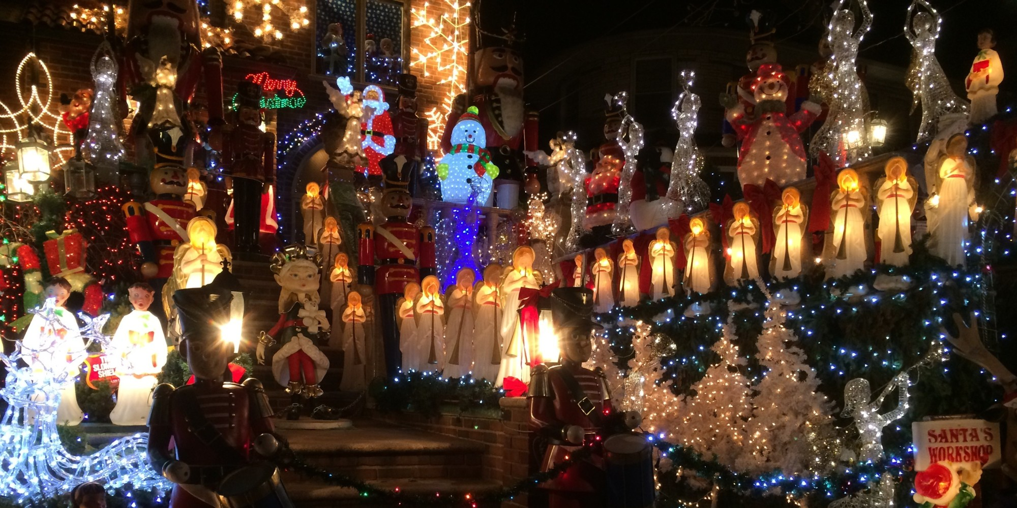 The Best U.S. Neighborhoods to See Holiday Lights in 2014 | HuffPost
