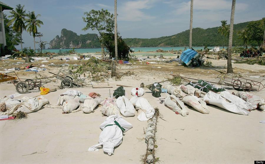 Boxing Day Tsunami Scenes Of Devastation Look Very
