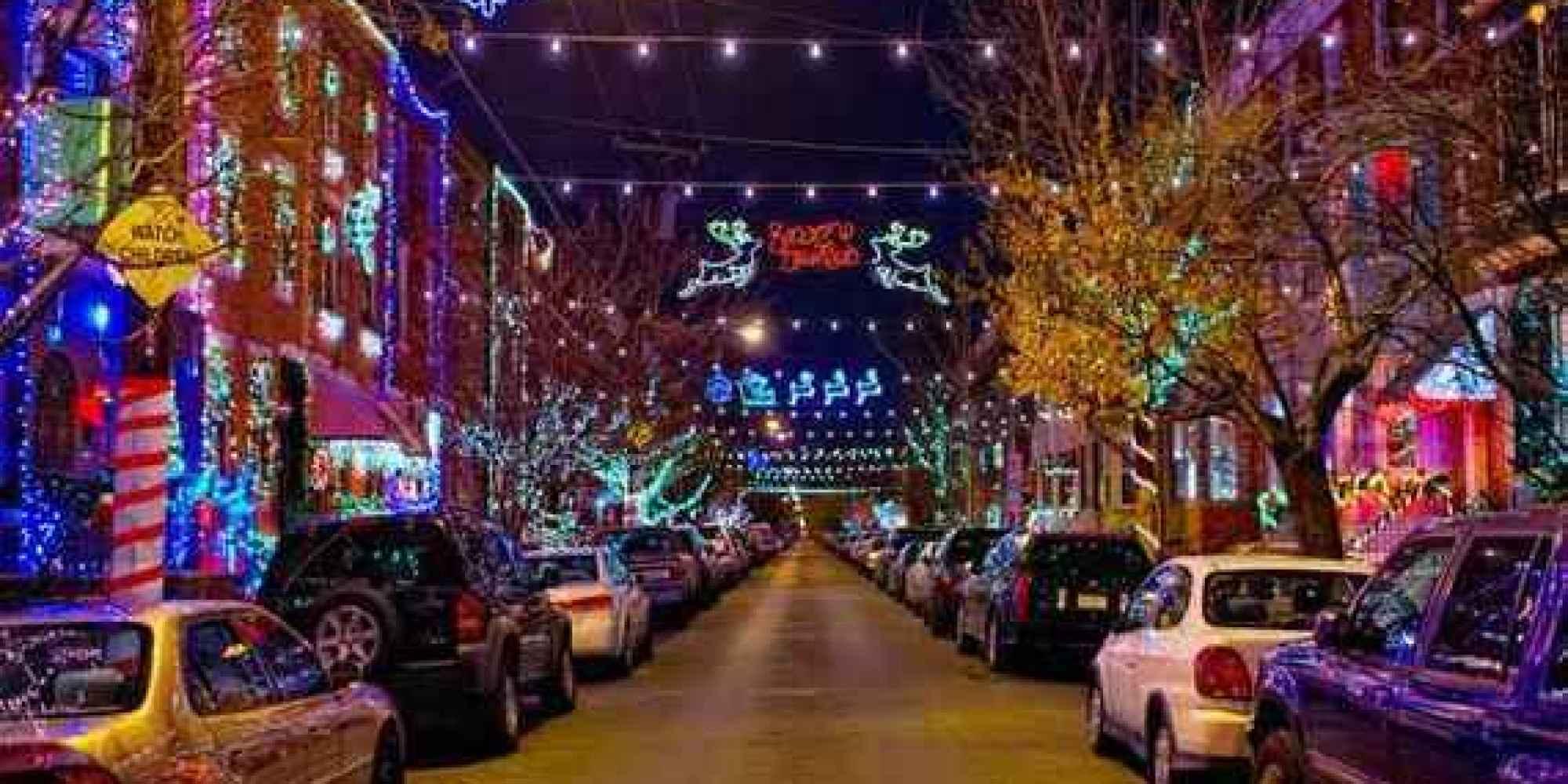 America's Best Streets for Christmas Lights | HuffPost