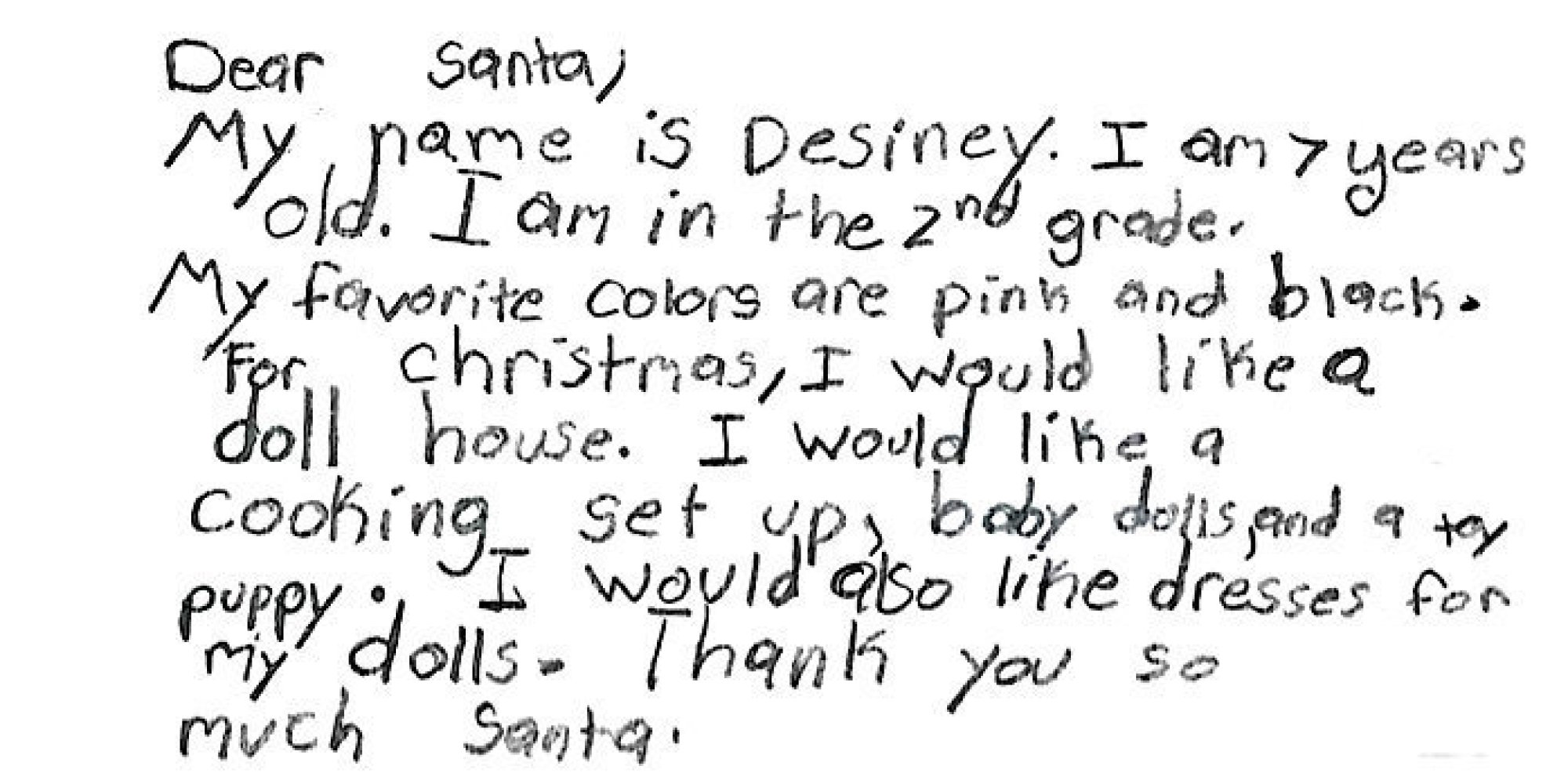 Homeless Kids' Letters To Santa Remind Us Not Everyone Will Have A
