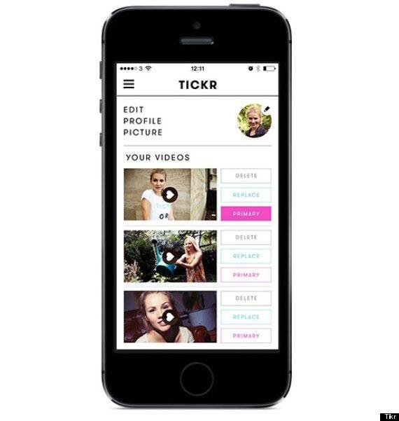 tickr dating app